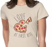 Love At First Bite Womens Fitted T-Shirt
