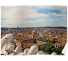 Rome Overview, Italy Poster