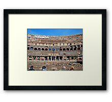 Roman Colosseum II, Italy Framed Print