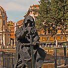 The Dark Knight, Rome, Italy by Al Bourassa