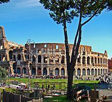 Roman Colosseum III, Italy by Al Bourassa