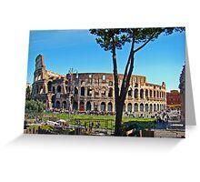 Roman Colosseum III, Italy Greeting Card