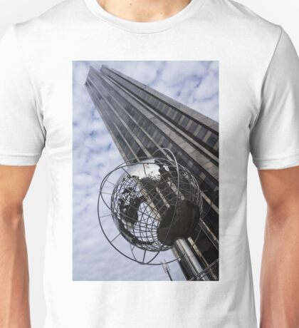 Silver and Blue Planet Earth Unisex T-Shirt