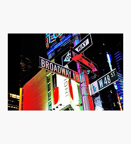 Broadway Magic Photographic Print