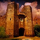 Berry Pomeroy Castle by ajgosling