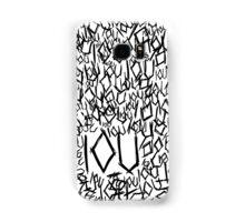 IOU Samsung Galaxy Case/Skin