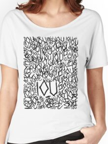 IOU Women's Relaxed Fit T-Shirt