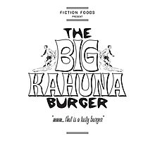Big Kahuna Burger - Pulp Fiction Photographic Print
