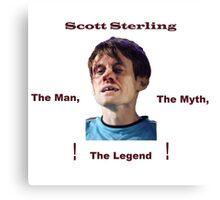 Scott Sterling! Canvas Print