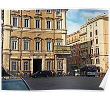 Palazzo Bonaparte, Rome Italy Poster