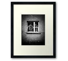 Window Framed Print