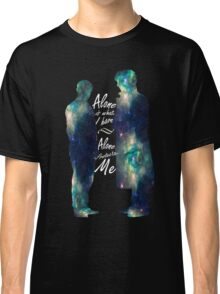"Johnlock ""ALONE IS WHAT I HAVE"" Classic T-Shirt"