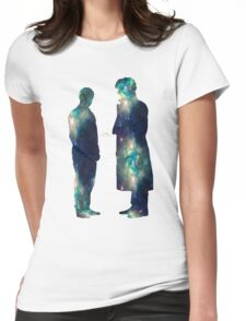"Johnlock ""ALONE IS WHAT I HAVE"" Womens Fitted T-Shirt"