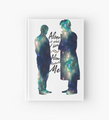 "Johnlock ""ALONE IS WHAT I HAVE"" Hardcover Journal"