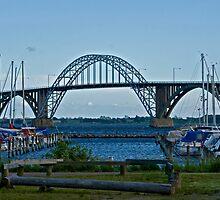 Bridges in Denmark - Queen Alexandrine Bridge  by imagic