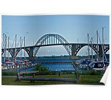 Bridges in Denmark - Queen Alexandrine Bridge  Poster
