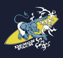 Demon Pack Surfer Demon Tribal Design by demonpack