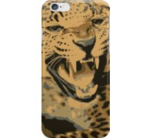 Wild leopard in 7 colors iPhone Case/Skin