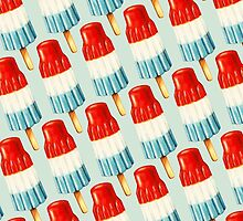Bomb Pop Pattern by Kelly  Gilleran