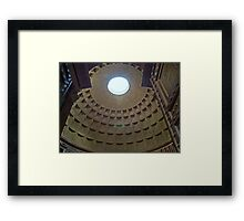 The Pantheon, Rome, Italy Framed Print