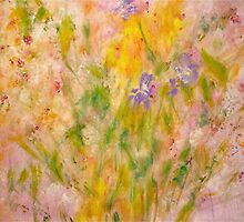 Spring Meadow by ClaireBull