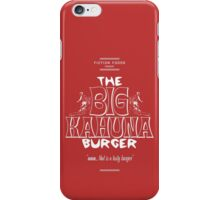 Big Kahuna Burger White - Pulp Fiction iPhone Case/Skin