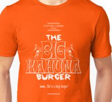 Big Kahuna Burger White - Pulp Fiction Unisex T-Shirt