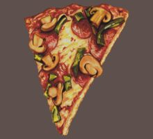 Pizza Pattern Kids Clothes