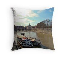 Roman Snapshot, Italy Throw Pillow