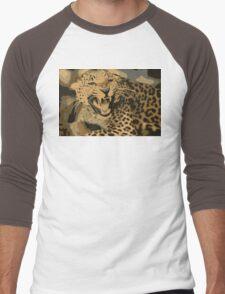 Wild leopard in 7 colors Men's Baseball ¾ T-Shirt