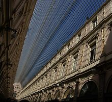 Playing With The Shadows - Brussels, Belgium Royal Galleria by Georgia Mizuleva