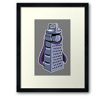 Master Cheese Shredder Framed Print