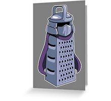 Master Cheese Shredder Greeting Card
