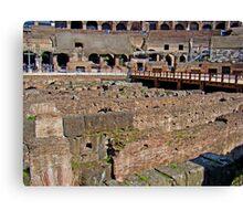 Where Lions Rome Canvas Print