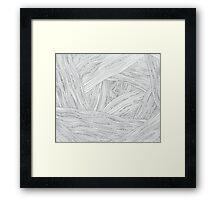 Line Forest Framed Print