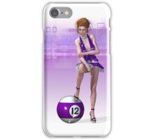 Poolgames 2009 - No. 12 iPhone Case/Skin