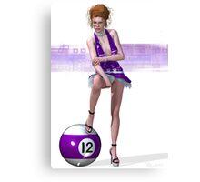 Poolgames 2009 - No. 12 Canvas Print
