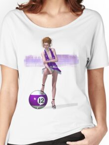 Poolgames 2009 - No. 12 Women's Relaxed Fit T-Shirt
