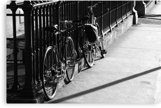 Bicycles At The Opera by SquarePeg
