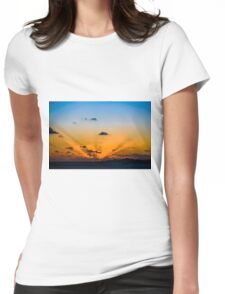 Polynesian Sunset Womens Fitted T-Shirt