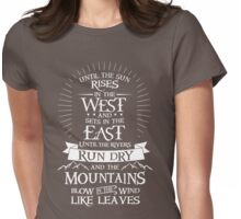 The Promise Womens Fitted T-Shirt