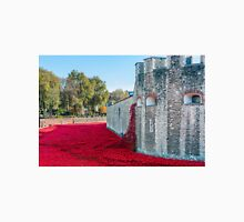 Cascading Poppies, Tower of London T-Shirt