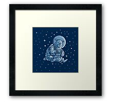 Space Bear Framed Print