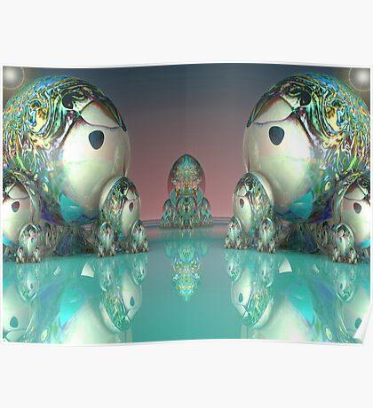 Matryoshki (Матрешки) Doll Faceoff on Mirror Lake Poster