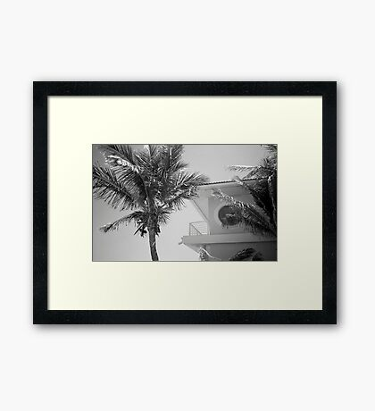 Tropical Blend Framed Print