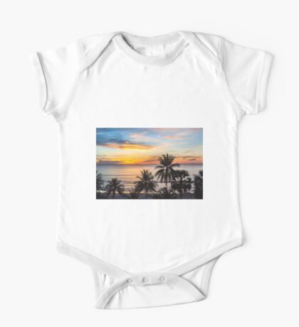 Sunset in Paradise One Piece - Short Sleeve
