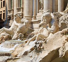 Trevi Fountain by DeePhoto
