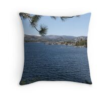 Natures Framing Throw Pillow