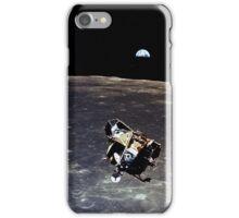 Earthrise and Lunar Lander iPhone Case/Skin