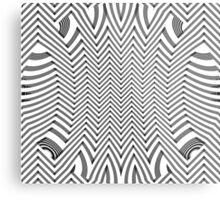 Zig Zag Patterns Metal Print